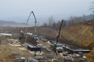 Viitorul ecoduct la km 58