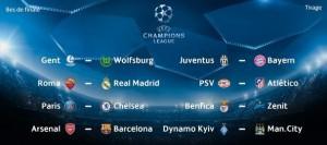 Champions League. Tragerea la sorţi a optimilor