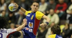 CM handbal feminin. Romania - Danemarca