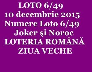 loto 6 din 49