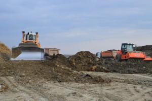 Pregatirea fundatiei la km84