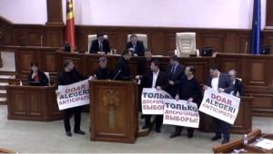 guvern chisinau proteste vot