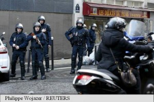 incident armat la paris