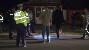 politie impuscaturi