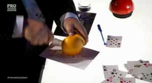Romanii au talent. Banceanu Radu Ionut si asul din portocala.