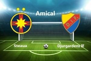 Meci amical. Steaua - Djurgardens