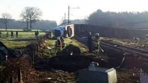 accident tren olanda Dalfsen