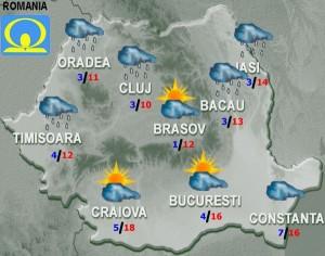 meteo vremea miercuri 3 februarie