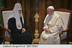 papa francisc si patriarhul kirill