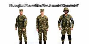 tinuta uniforma armata romana