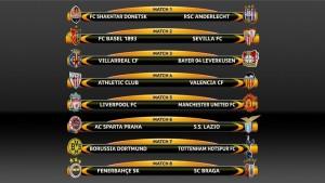 tragere la sorti europa league