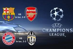Barcelona - Arsenal / Bayern – Juventus