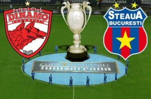 Cupa Romaniei. Meciul Dinamo - Steaua