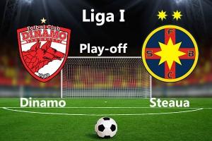 Etapa 1 play-off. Dinamo - Steaua.