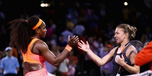 Indian Wells. Simona Halep - Serena Williams.