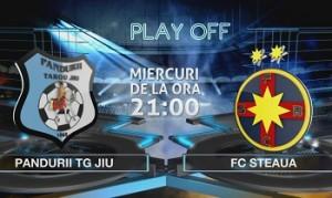 Liga I. Etapa 4 play-off. Pandurii - Steaua