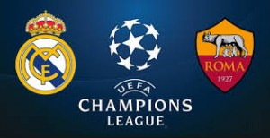 Champions League. Real Madrid - AS Roma