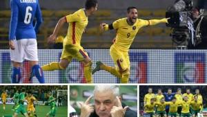 Romania lituania fotbal meci amical