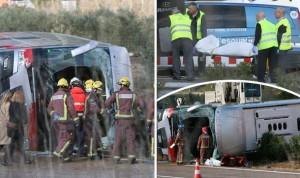 School-bus-crash-Erasmus-Tarragona-Spain
