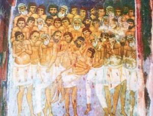 Sfinti 40 de Mucenici