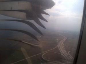 avion tarom motor foc
