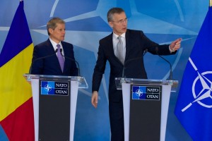 Joint press point by NATO Secretary General Jens Stoltenberg  and the Prime Minister of Romania, Dacian Ciolos