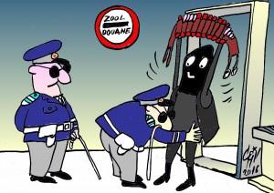 controlul teroristilor