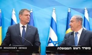 iohannis si Benjamin Netanyahu