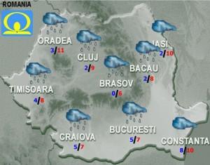meteo prognoza miercuri 23 martie