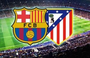 Champions League. Barcelona - Atletico Madrid