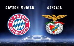 Champions League. Bayern - Benfica