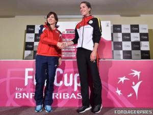 Fed Cup. Simona Halep - Andrea Petkovic