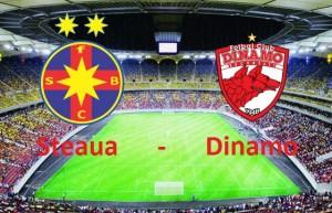 Liga I, etapa 6, PLAY OFF. STEAUA - DINAMO