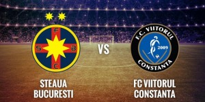 Liga I. Etapa 8 play off. Steaua - Viitorul Constanta