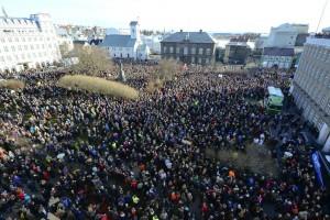 proteste Reykjavik