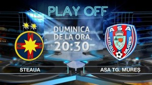 Liga I. Etapa 5 play off. STEAUA – ASA TG MUREȘ