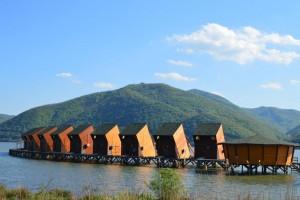 Cabane lacustre la Berzas