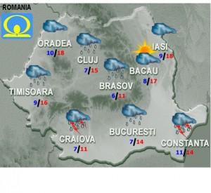 vremea meteo marti 3 mai