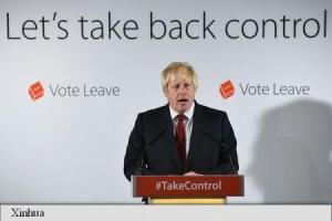 Liderul taberei Brexit, Boris Johnson