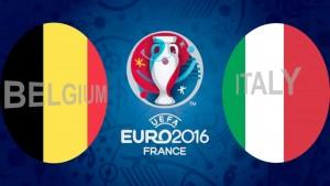 EURO 2016. Belgia - Italia