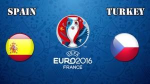 EURO 2016. Spania - Turcia.