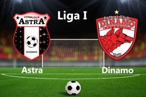 Liga I, etapa 1. Astra - Dinamo