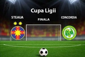Cupa Ligii. Steaua - Concordia Chiajna