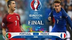 EURO 2016, finala. Franta - Portugalia