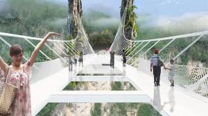 Zhangjiajie Grand Canion Glass Bridge