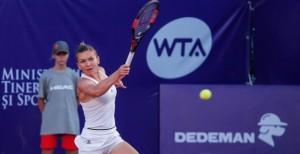 Bucharest Open. Simona Halep - Danka Kovinic