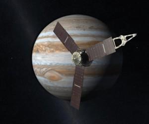 sonda spatiala juno pe orbita jupiter