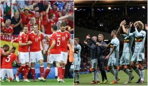 EURO 2016, sferturi. Țara Galilor - Belgia