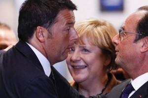 Merkel-Hollande-Renzi