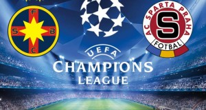 Champions League. Steaua - Sparta Praga